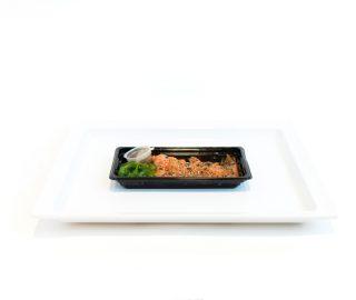Zalm Sashimi Met Japanse Kruiden